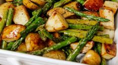 Dave's Marketplace - Balsamic Roasted New Potatoes with Asparagus