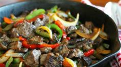 Dave's Marketplace - Sauteed Sirloin Tips With Bell Peppers And Onion