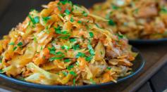 Dave's Marketplace - Cabbage Sauteed with Chicken