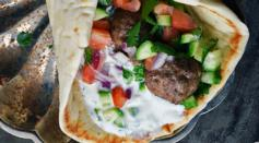 Dave's Marketplace - Mediterranean Meatball Gyros Sandwiches