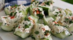 Dave's Marketplace - Stuffed Cucumber Bites