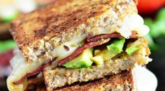 Dave's Marketplace - Turkey Bacon and Avocado Grilled Cheese