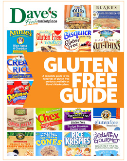 Dave's Marketplace Gluten Free Guide
